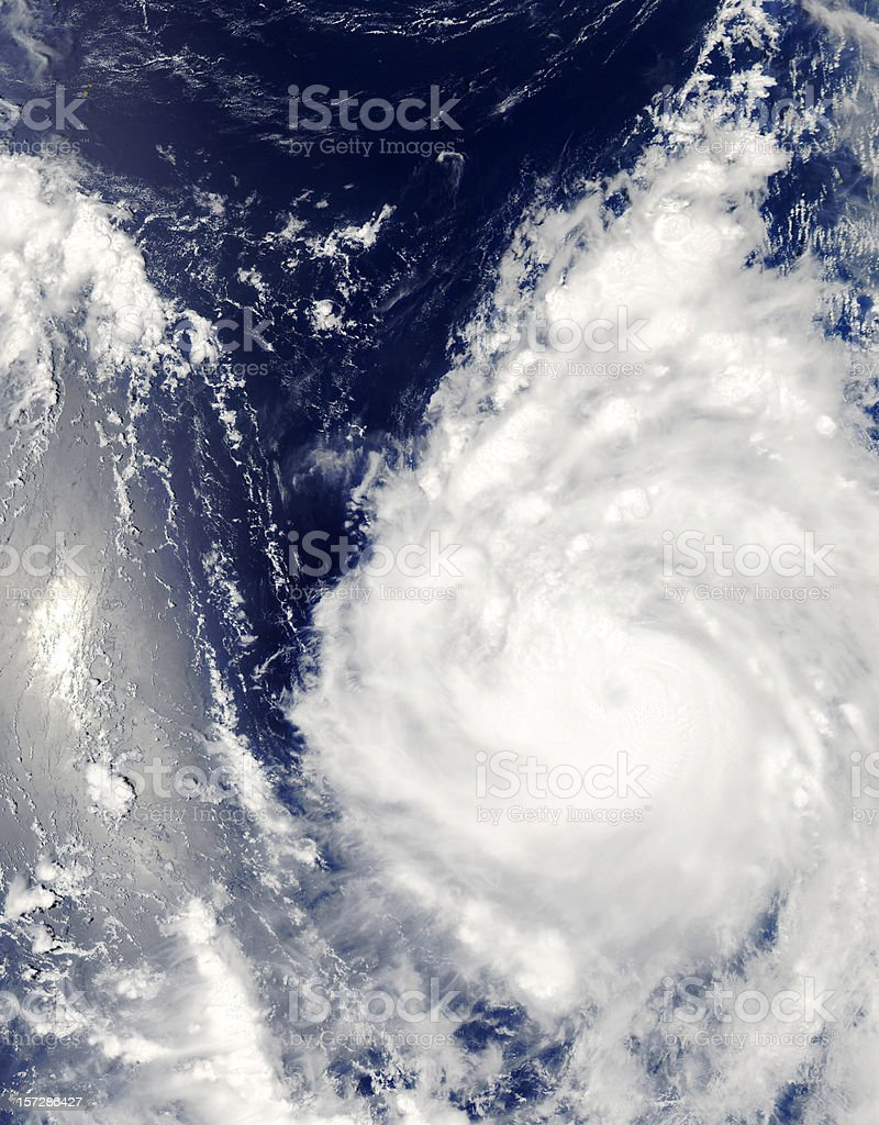 ouragan royalty-free stock photo