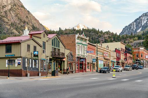 Ouray Colorado mountain town