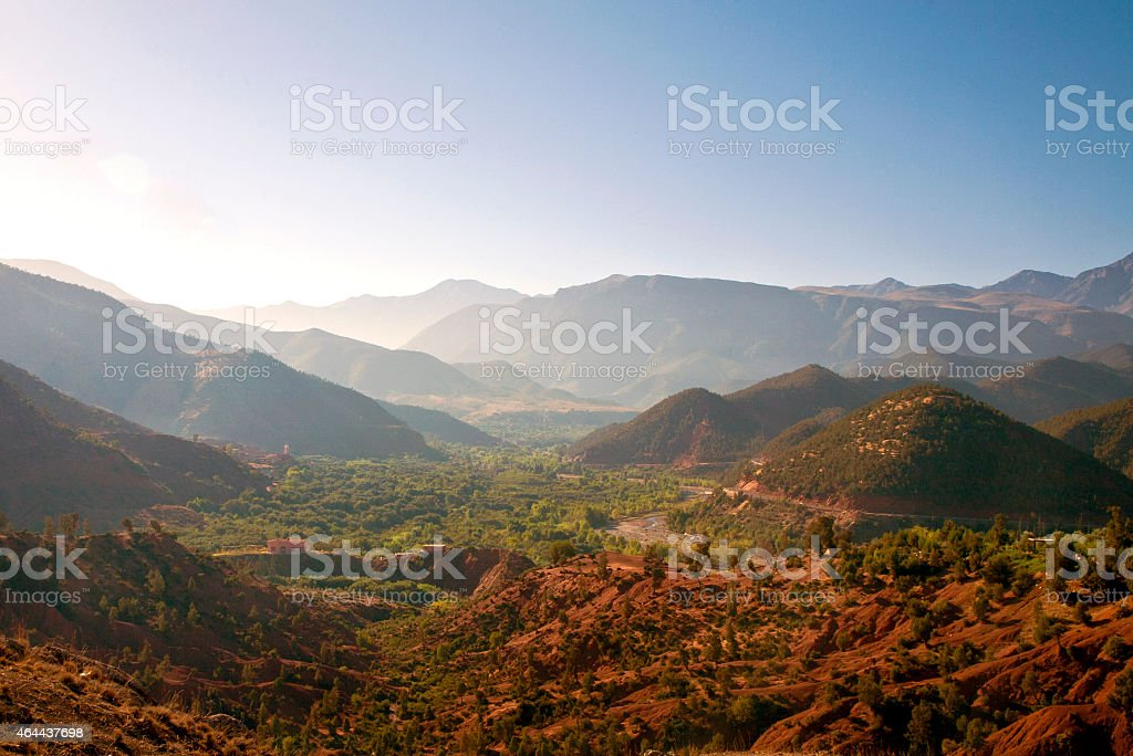 Ourika Valley, Atlas Mountains, Morocco stock photo
