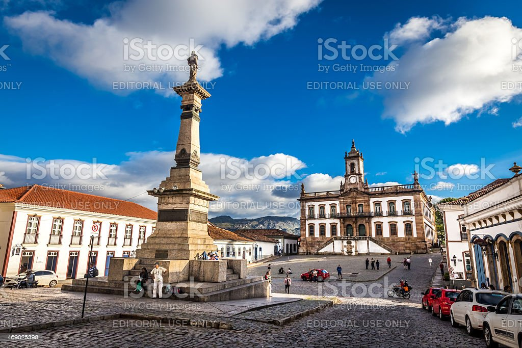 Ouro Preto, Brazil stock photo