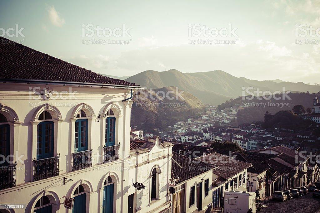 Ouro Preto, Brazil, South America. stock photo