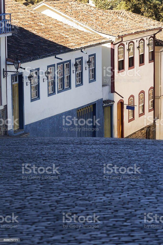 Ouro Preto in Minas Gerais, Brazil royalty-free stock photo