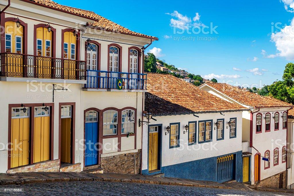Ouro Preto in Minas Gerais State, Brazil stock photo