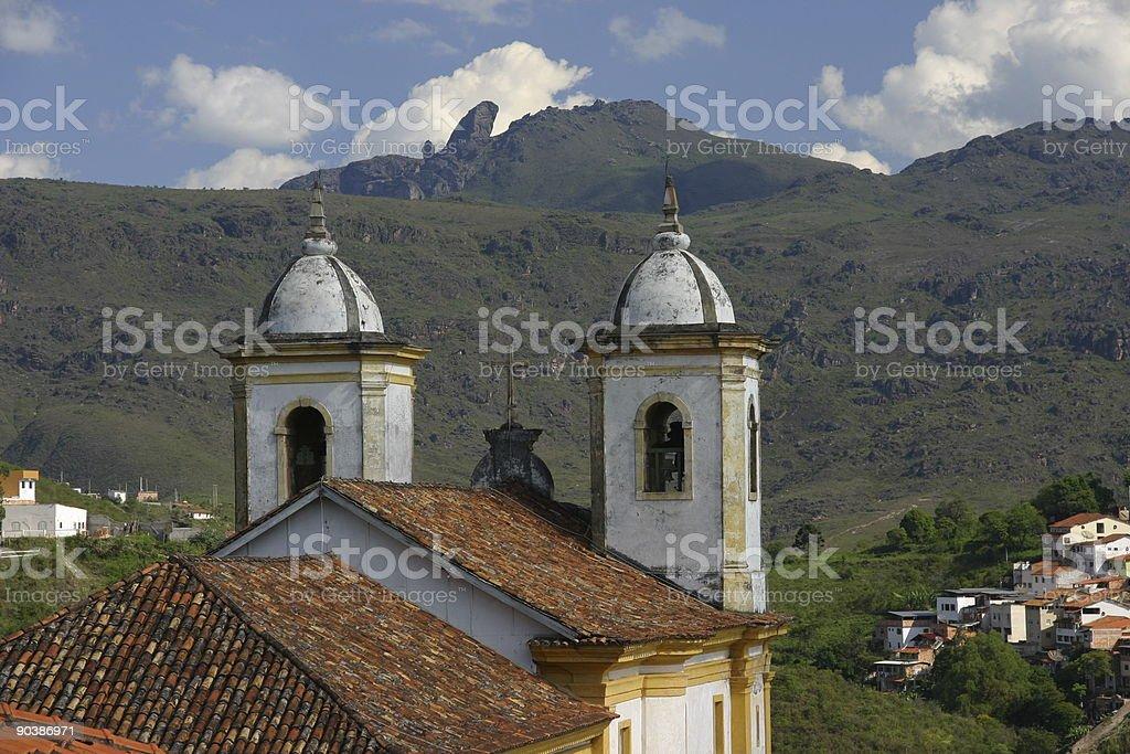 Ouro Preto Scenic royalty-free stock photo
