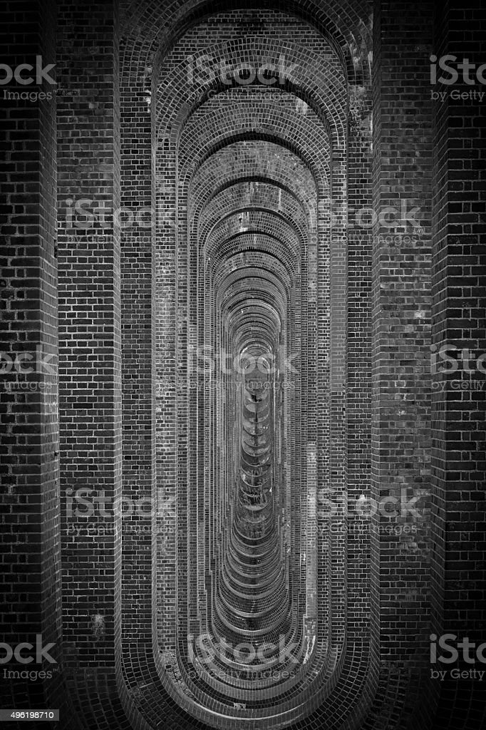 Ouse Valley Viaduct stock photo