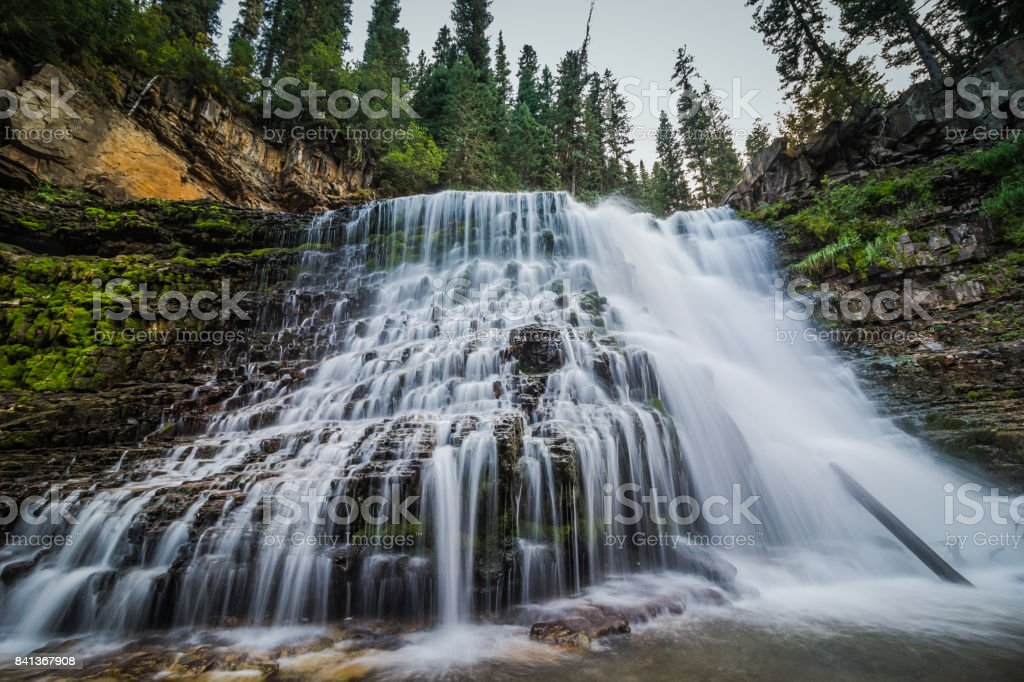 Ousel Falls stock photo