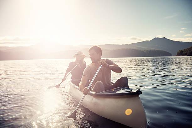 Para disfrutar de una placentera en embarcación - foto de stock