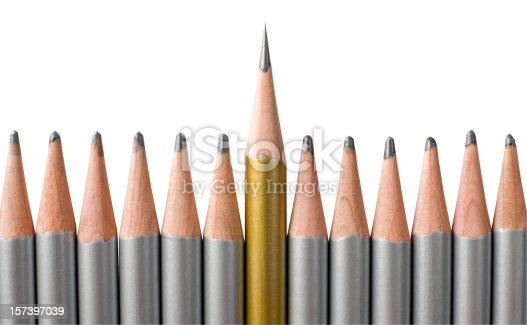 istock Out from the crowd. 157397039