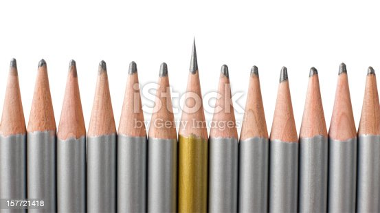 istock Out from the crowd. 157721418