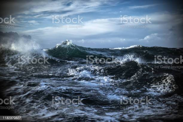 Photo of Out in a rough sea