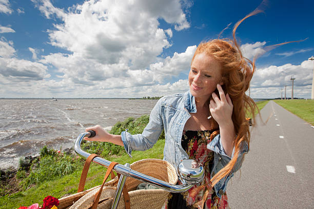 out in windy holland​​​ foto