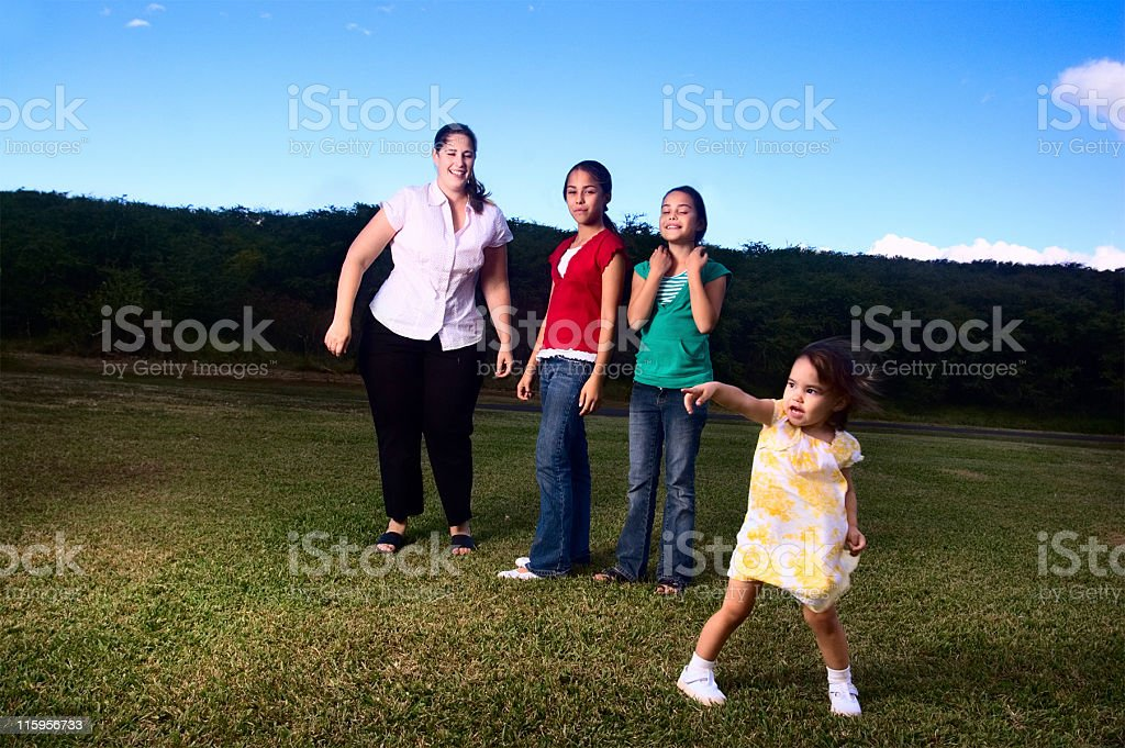 Out Of Control Portrait stock photo
