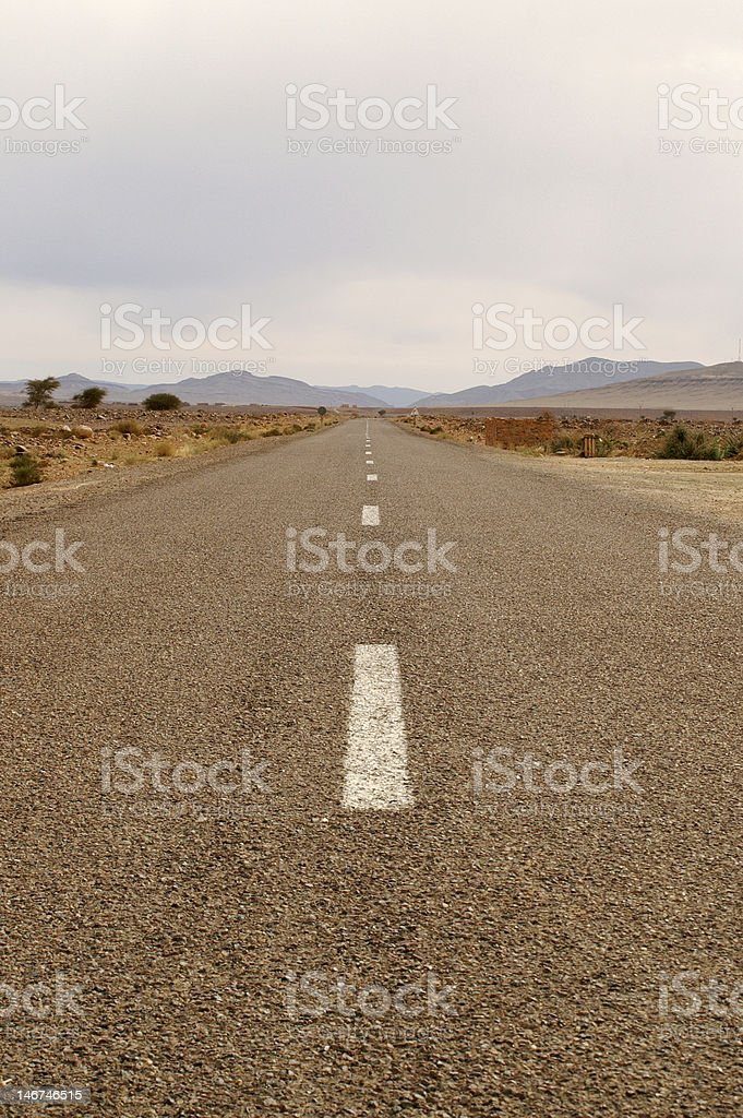 Out of desert stock photo