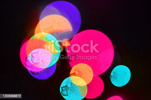 889246424 istock photo Out of focus Christmas lights 1 1203066872
