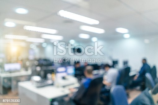 istock Out of focus Office Background 879125330