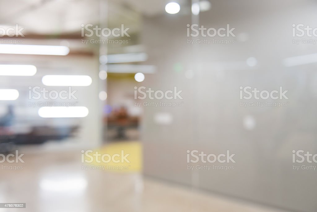 Out of focus Office Reeption Background stock photo