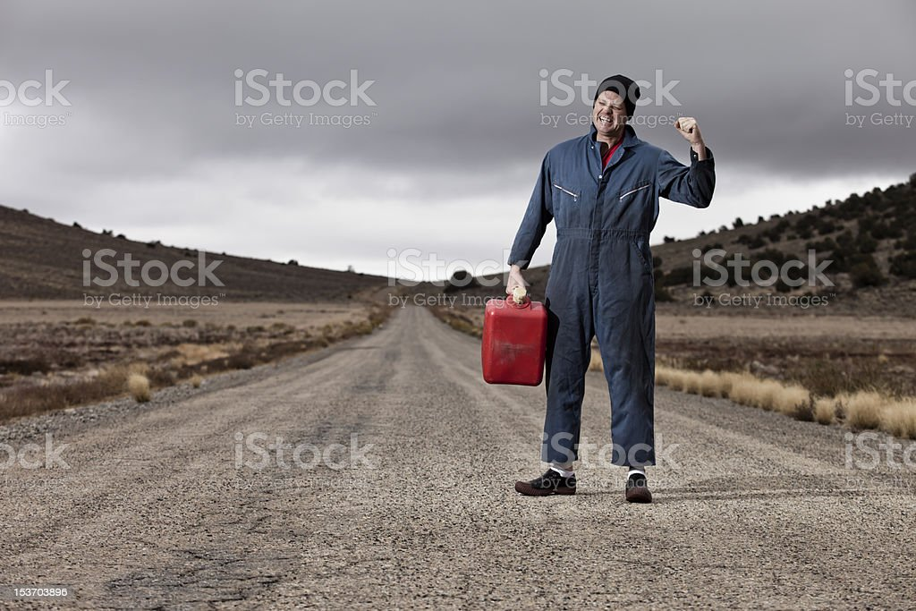Out of Gas, No? stock photo