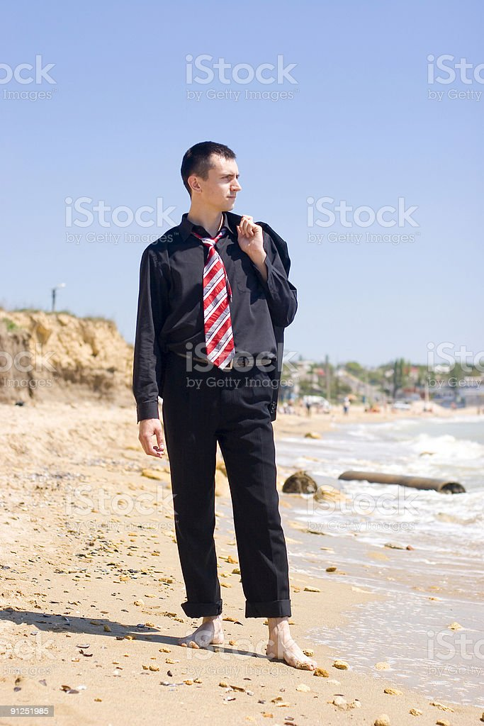 Out of office royalty-free stock photo