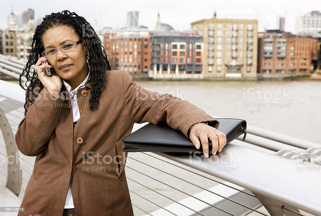 Out of office reply stock photo