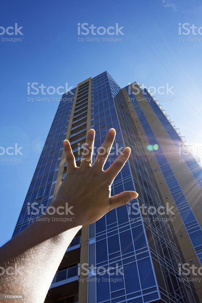 Out Of Reach stock photo