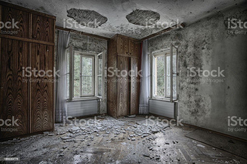 Out of repair royalty-free stock photo