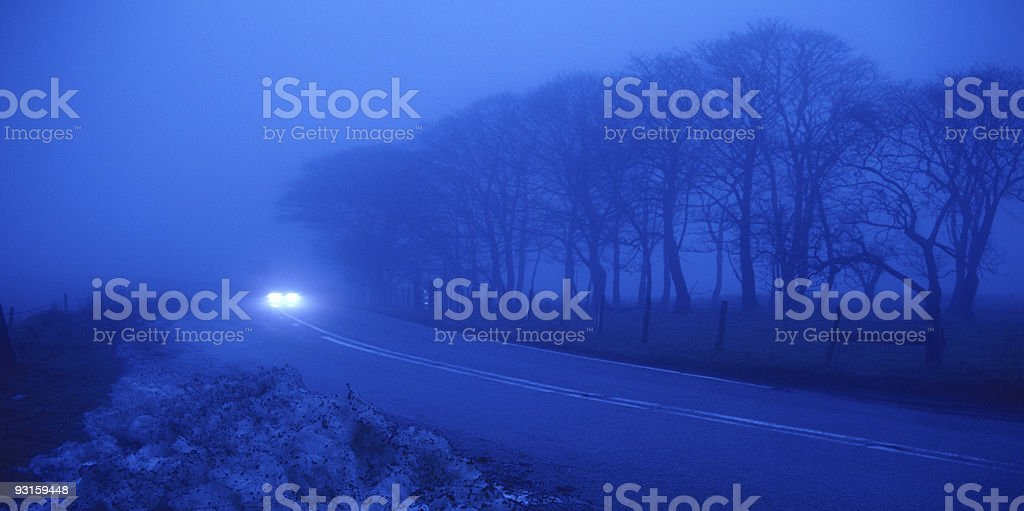 out of the fog royalty-free stock photo