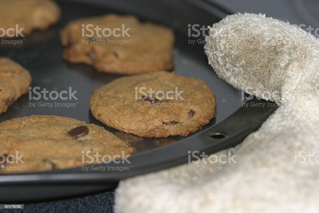Out of the oven royalty-free stock photo