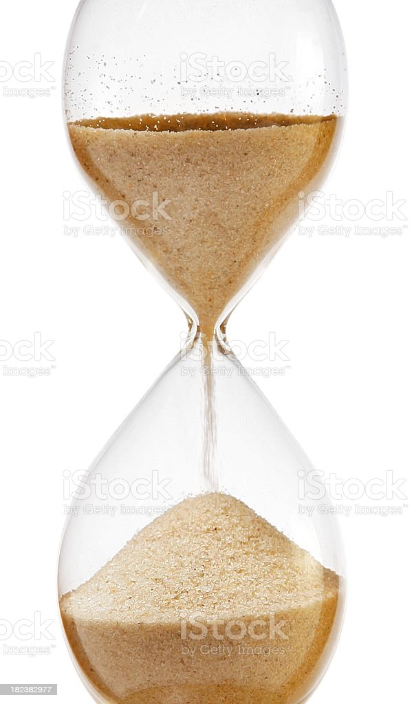 Out of time royalty-free stock photo