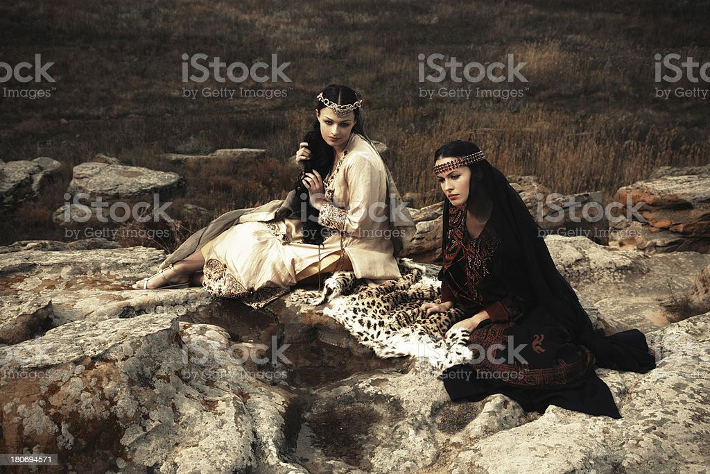 Out of time.Ancient motive stock photo