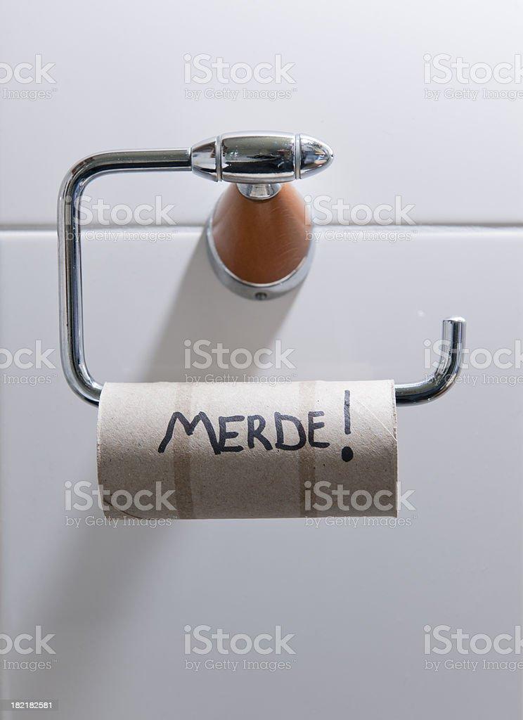 out of toilet paper XXXL image stock photo