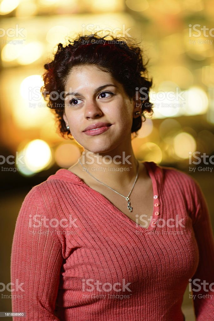 Out on the Town - Dramatic royalty-free stock photo