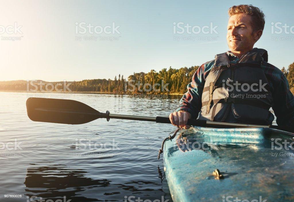 Sur l'eau où il désirait être - Photo