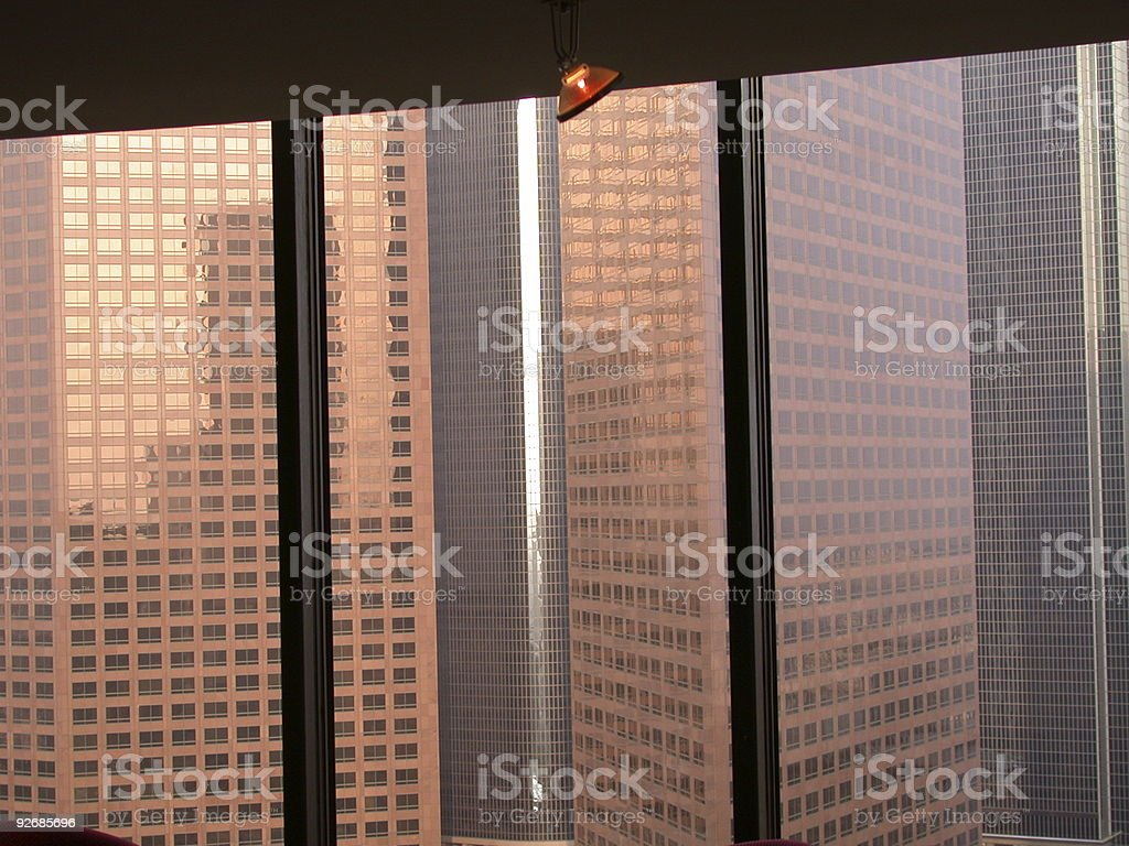 Out these windows royalty-free stock photo
