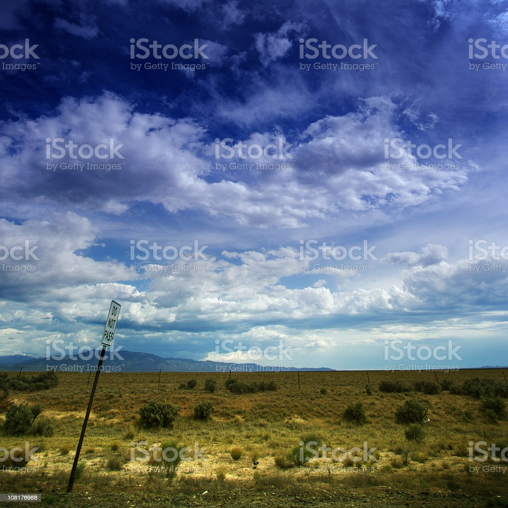 out west stock photo