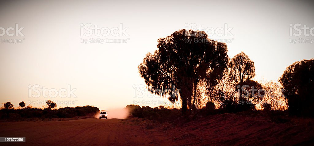 Outback Approach stock photo