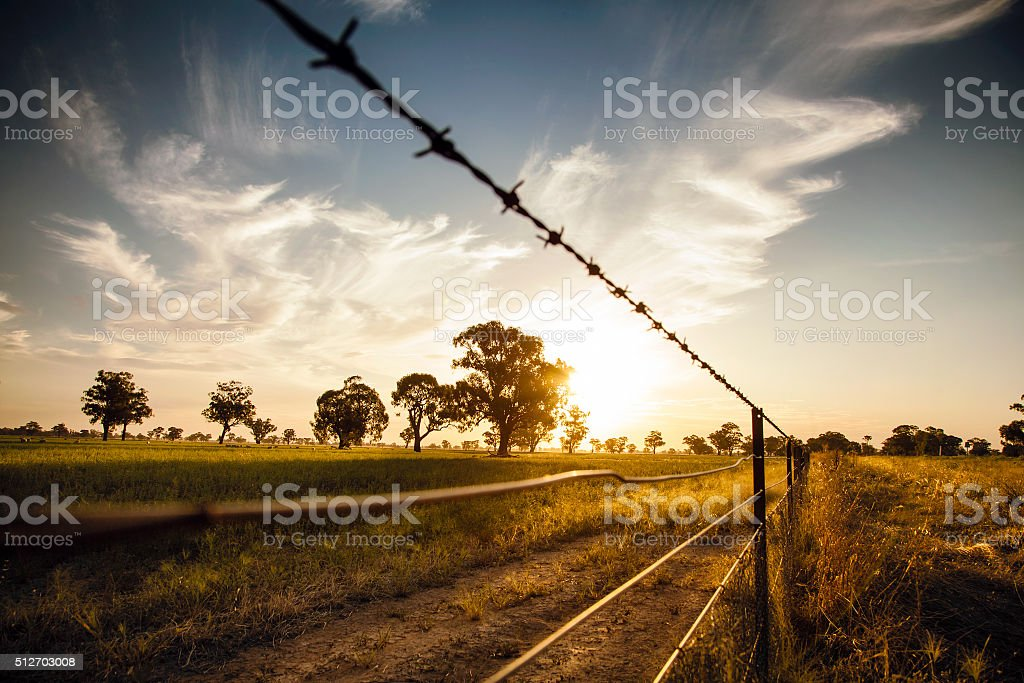Outback Australia stock photo