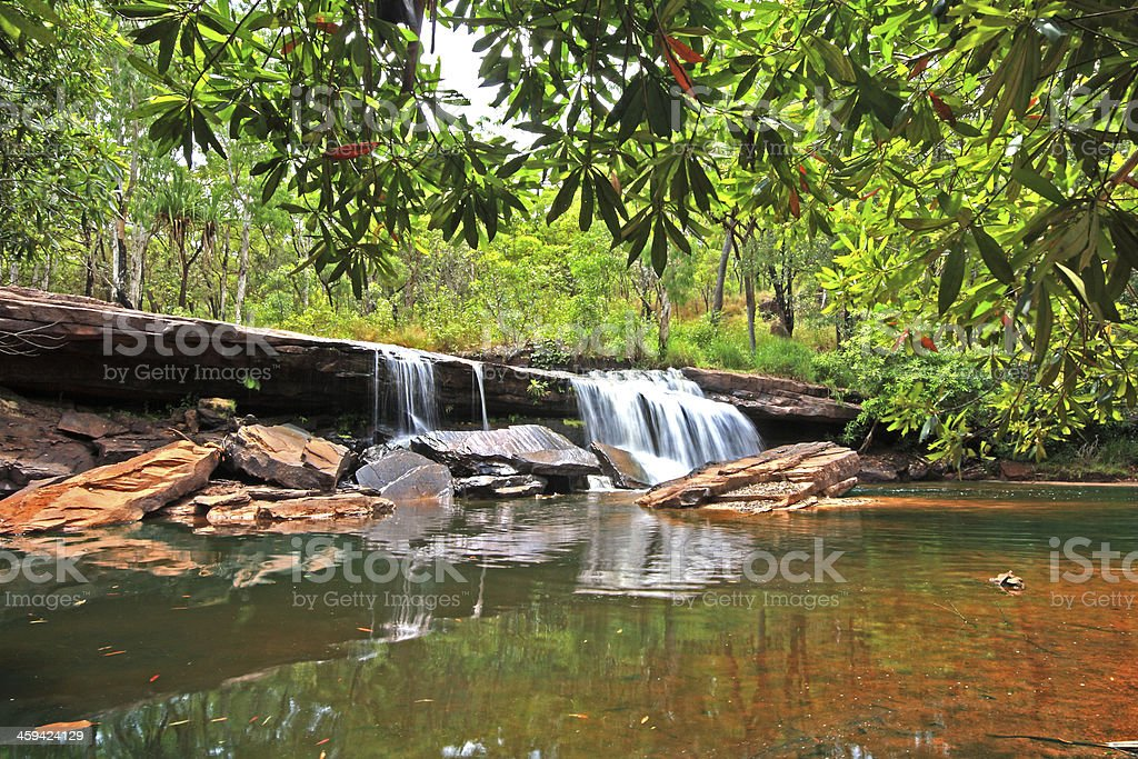 Outback Falls stock photo
