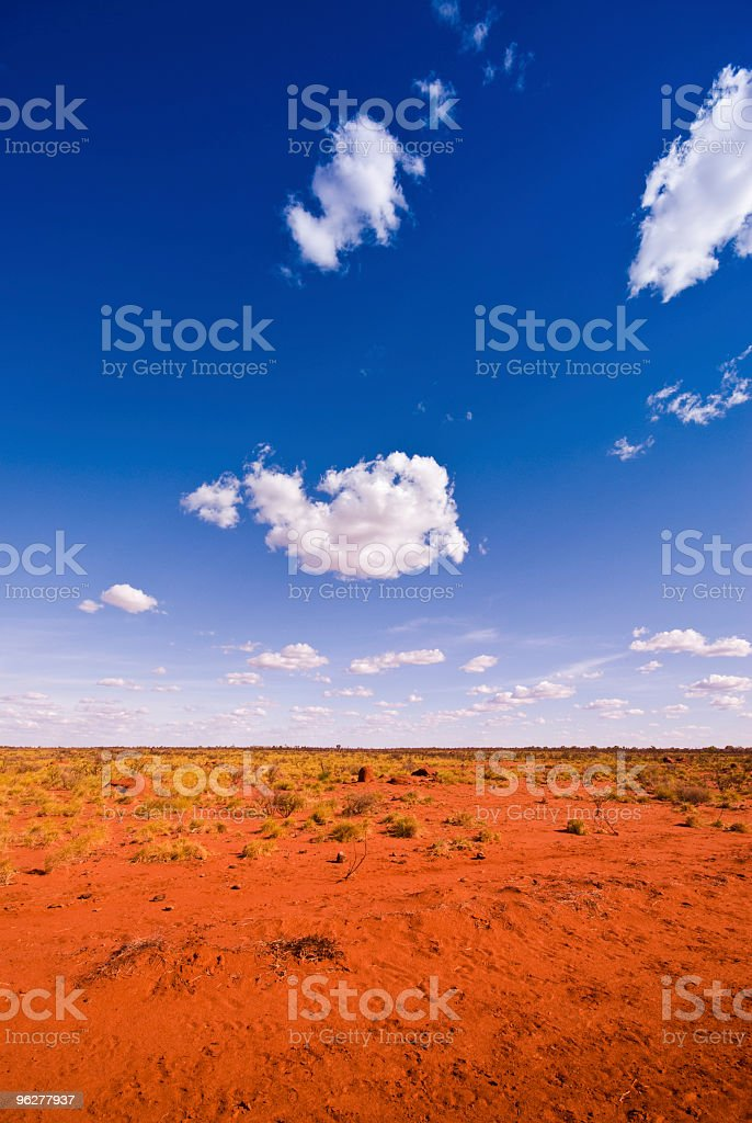 Outback Landscape royalty-free stock photo