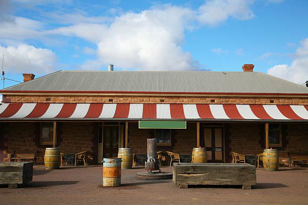 Outback Pub stock photo