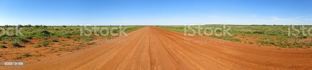 Outback Road, Australia stock photo