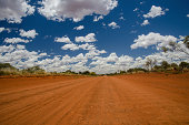 Footprints in the Red Sand, Great Sandy Desert, Western Australia
