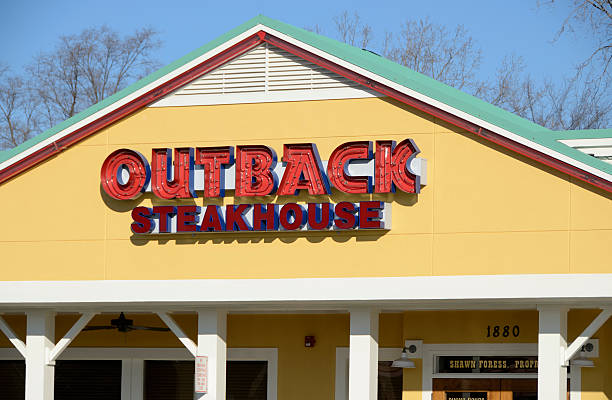 Outback Steakhouse stock photo