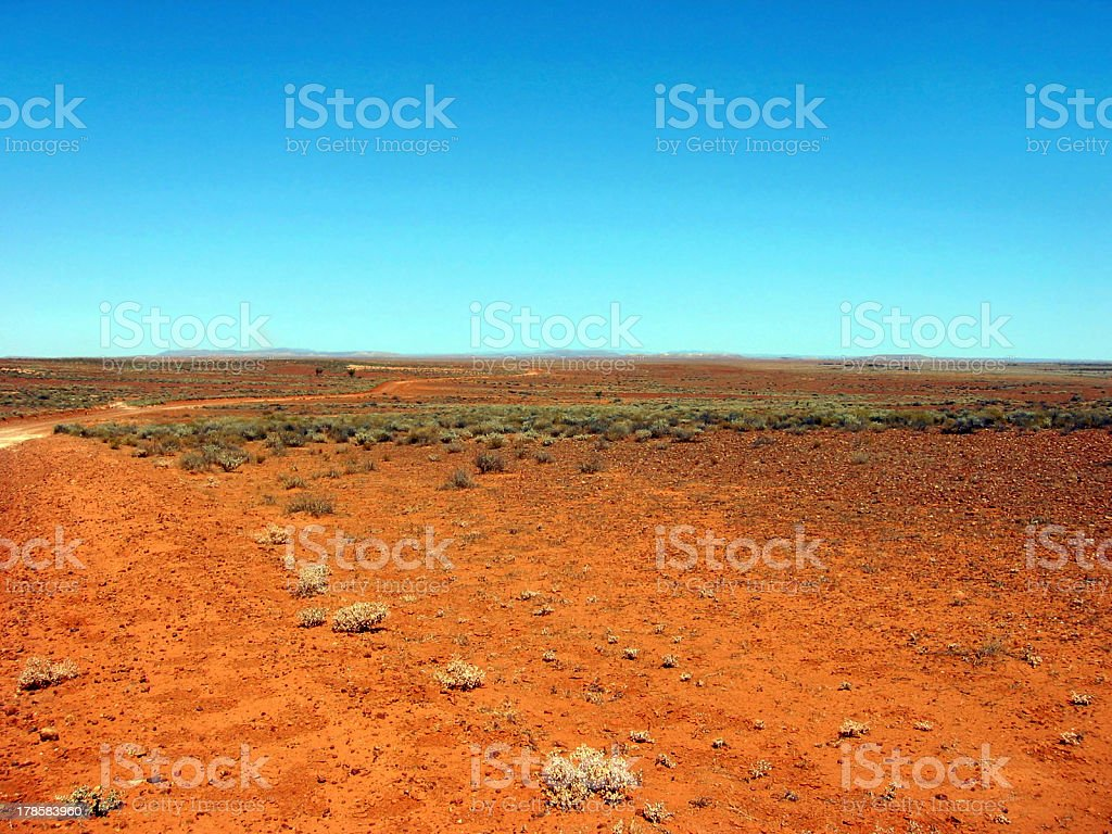 Outback Track stock photo