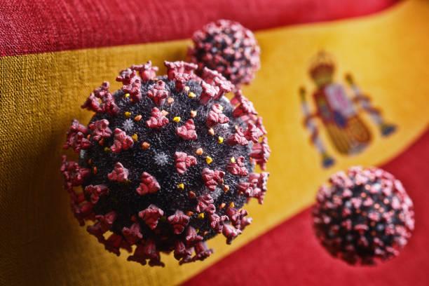 Ausbruch der Coronavirus-Infektion in Spanien, Pandemie von Covid-19 – Foto