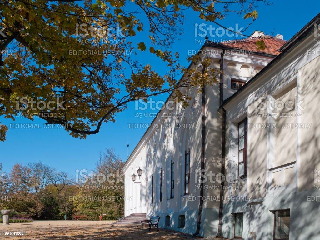 Dépendance de la demeure de Krasinski. Opinogora, Pologne. - Photo