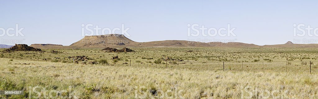 outcrop of kopjes royalty-free stock photo