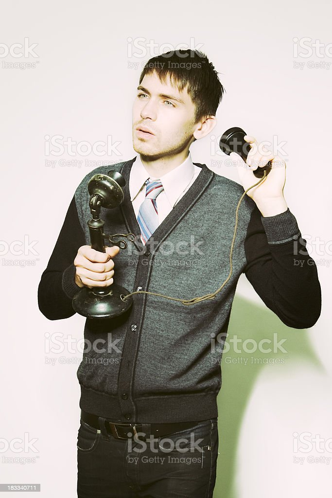 Outdated Communications Technology stock photo
