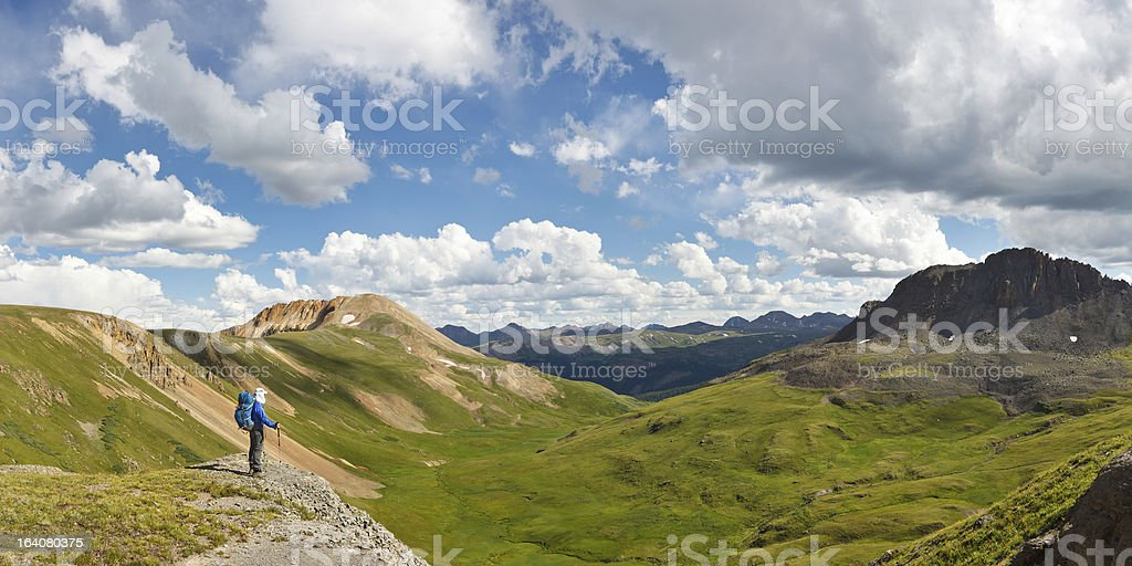 Outdoor Adventure Panorama royalty-free stock photo