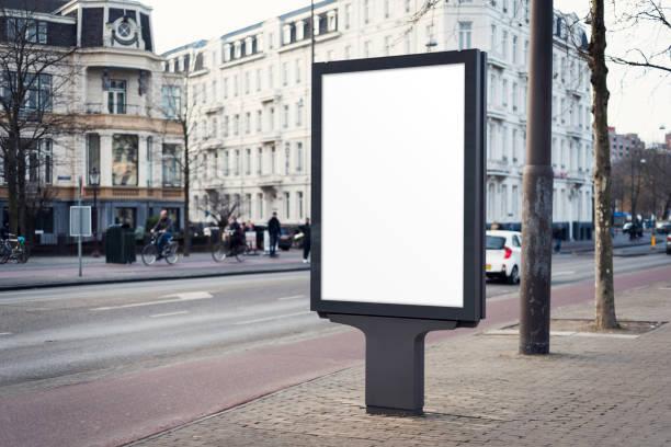Outdoor Werbung Plakat – Foto