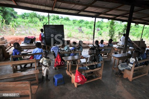 istock Outdoor African Elementary School Classroom 458463317